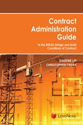 Contract Administration Guide - to the REDAS Design and Build Conditions of Contract cover