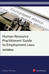 Human Resource Practitioners' Guide to Employment Laws, 3rd Edition cover