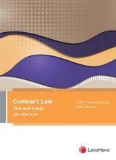 Contract Law: Text and Cases, 3rd edition [eBook] cover