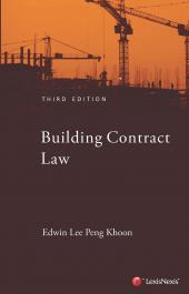 Building Contract Law in Singapore cover