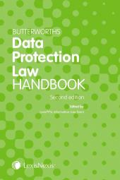 Butterworths Data Protection Law Handbook Second edition cover