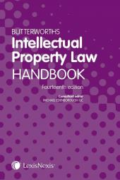 Butterworths Intellectual Property Law Handbook 14th edition cover