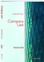 Company Law, 3rd Edition cover