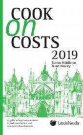 Cook on Costs 2019 [eBook] cover