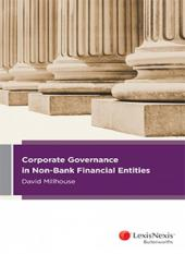 Corporate Governance in Non-Bank Financial Entities [eBook] cover