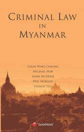 Criminal Law in Myanmar cover