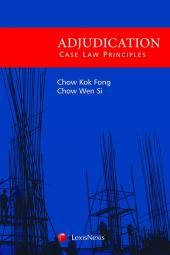 Adjudication - Case Law Principles [eBook] cover