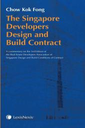 The Singapore Developers Design and Build Contract [eBook] cover