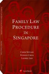 Family Procedure in Singapore [eBook] cover