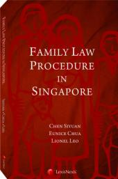 Family Procedure in Singapore cover