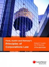 Ford, Austin and Ramsay's Principles of Corporations Law, 17th edition cover