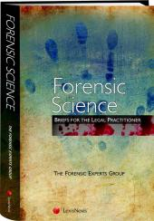 Forensic Science – Briefs for the Legal Practitioner cover