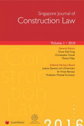 Singapore Journal of Construction Law cover