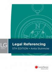 LexisNexis Guide: Legal Referencing, 5th edition cover