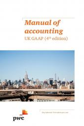 Manual of Accounting: UK GAAP Fourth edition [eBook] cover
