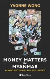 Money Matters in Myanmar  cover