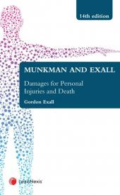 Munkman and Exall On Damages For Personal Injuries and Death 14th edition cover