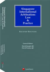 Singapore International Arbitration: Law & Practice, 2nd Edition cover