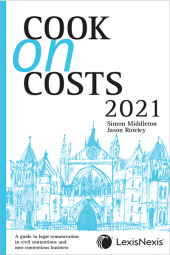 Cook on Costs 2021 [Book] cover