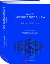 Woon's Corporations Law, Desk Edition cover