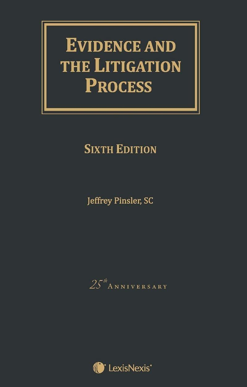 Evidence and the litigation process 6th edition lexisnexis book ebook fandeluxe Images