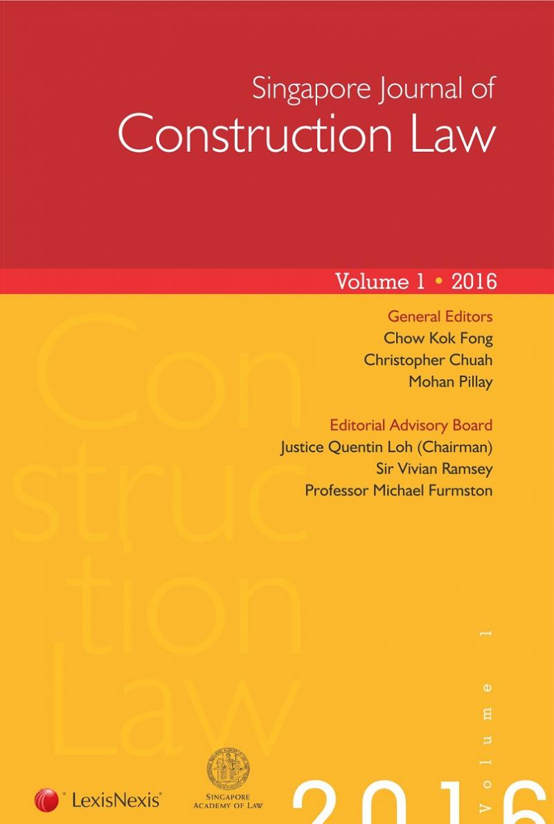 Singapore Journal Of Construction Law