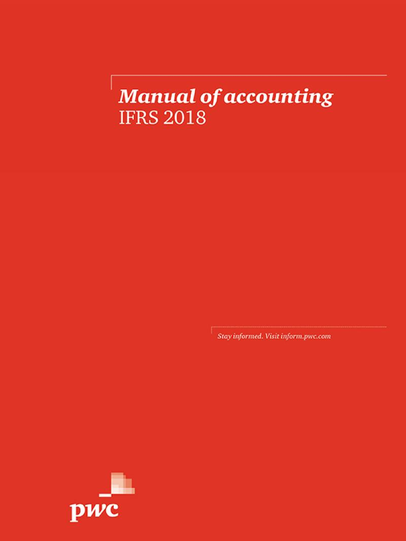 Manual of accounting - IFRS 2018 eBook